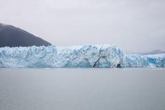 Perito Moreno Glacier in stillness ... at Argentina`s Los Glaciares National Park stock photos