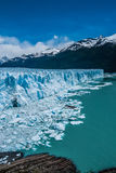 Perito Moreno glacier in a sunny day. In Argentina Royalty Free Stock Photos