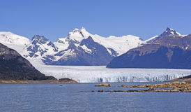 Perito Moreno Glacier on a Sunny Day Royalty Free Stock Image