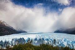 Perito Moreno Glacier. A view of the Perito Moreno Glacier in Argentina Royalty Free Stock Images