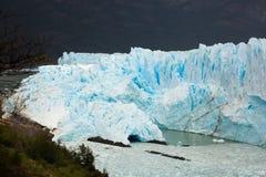 Perito Moreno Glacier. View on the Perito Moreno Glacier and surroundings in Los Glaciares National Park in Argentina Royalty Free Stock Photo