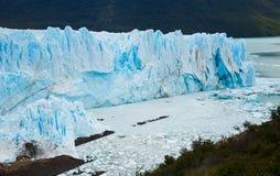 Perito Moreno Glacier. View on the Perito Moreno Glacier and surroundings in Los Glaciares National Park in Argentina Stock Photography