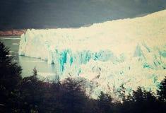Perito Moreno Glacier. View on the Perito Moreno Glacier and surroundings in Los Glaciares National Park in Argentina Royalty Free Stock Image