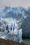 Perito Moreno Glacier which has amazing color - it Stock Photography