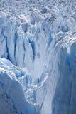 Perito Moreno glaciär - Argentina Arkivbilder