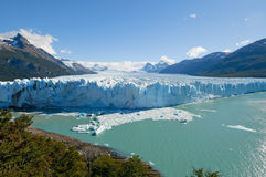Perito Moreno glaciär, Patagonia, Argentina Arkivbild