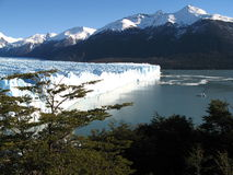 Perito Moreno Gletscher stockfotos