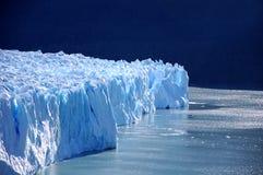 Perito Moreno Gletscher Stockfoto
