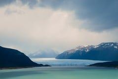 Perito Moreno, gletsjer Royalty-vrije Stock Afbeeldingen