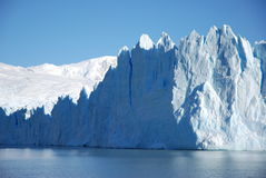 Perito Moreno ice front royalty free stock image