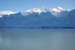 Perito Moreno ice front stock photography