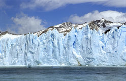 Perito Moreno Ice Wall Royalty Free Stock Photos