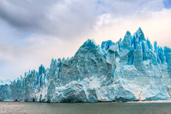 Perito Moreno, la Argentina imagenes de archivo