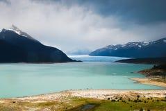 Perito Moreno, landschap, Patagonië Royalty-vrije Stock Foto
