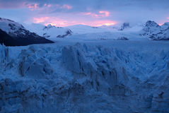 Perito Moreno lodowiec Obraz Stock