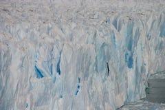 Perito Moreno szczegół Zdjęcie Stock