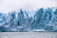 Perito Moreno szczegół Fotografia Stock