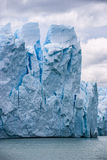 Perito Moreno zakończenie up Zdjęcie Stock