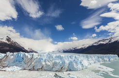 Perito Moreno lodowiec w Los Glaciares parku narodowym, Argent Obraz Royalty Free