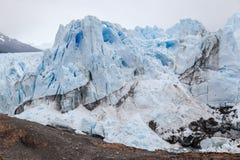 Perito莫尔诺Glaciar阿根廷 库存图片