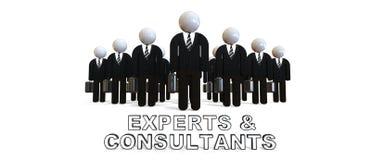 Peritos e Consultats Imagens de Stock Royalty Free