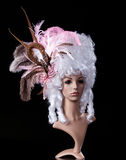 Periwig in baroque style Royalty Free Stock Photos