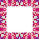 Periwinkle frame Stock Image
