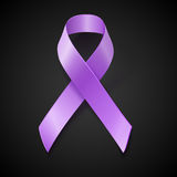 Periwinkle ribbon. Eating Disorder awareness symbol Stock Photography