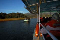 Periyar Lake Royalty Free Stock Photos