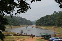 Periyar Lake and National Park, Thekkady, Kerala. India Royalty Free Stock Photography