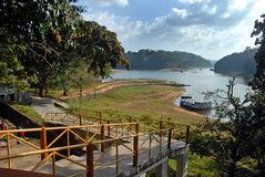 Periyar National Park and Wildlife Sanctuary Stock Images