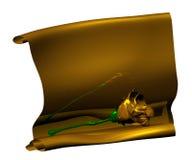 Perkament royalty-vrije stock afbeelding