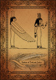 Perkament-Egyptenaar Royalty-vrije Stock Afbeeldingen