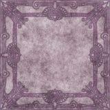 Perkament met siergrens Royalty-vrije Stock Afbeeldingen
