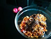 Perkasam Daging & x28; meat& fermentato x29; fotografie stock libere da diritti