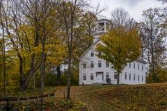 Perkins Academy - Süd-Woodstock, Vermont Stockfoto