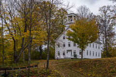 Perkins Academy - South Woodstock, Vermont Stock Photo