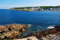 Perkins Cove em Maine fotografia de stock royalty free