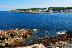 Perkins Cove in Maine Royalty Free Stock Photography
