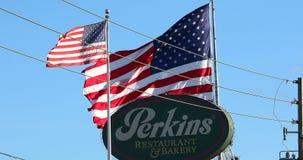Perkins Restaurant And Bakery Logo video estoque