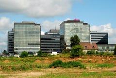 Perkunkiemis residential block - new view of Vilnius city. Stock Photography