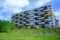 Perkunkiemis residential block - new view of Vilnius city Royalty Free Stock Photography