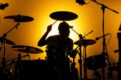 perkusista Obrazy Royalty Free
