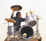 perkusista Obrazy Stock