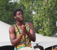 perkusista afrykańskiej Fotografia Stock