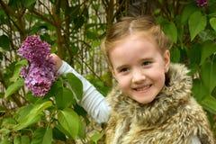 Perky little girl Stock Photo