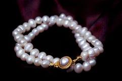 Perla blanca Foto de archivo libre de regalías
