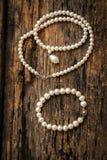 Perla blanca Fotografía de archivo libre de regalías