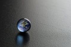 Perla blu Fotografie Stock Libere da Diritti