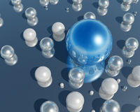 perla 3D Imágenes de archivo libres de regalías